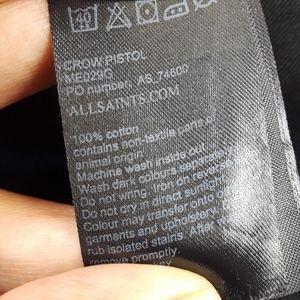 All Saints Jeans - All Saints Black Ripped Jeans